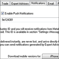 MT4 Push Notification Setup